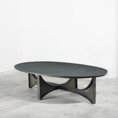 Paul Evans, Welded Steel and Slate Coffee Table, c1965.