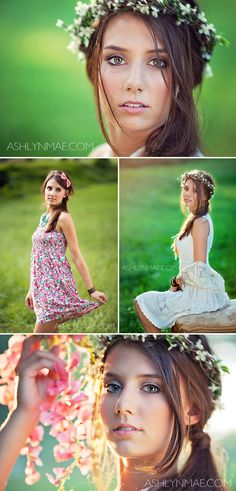 Ashlyn Mae Photography | Models & Fashion | Greenville SC  #photoshootideas #sunflare #backlit #outdoorphotos #beauty #models #fashion #flowercrown