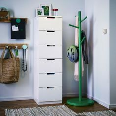 IKEA Fan Favorite: NORDLI drawers. You can use one modular chest of drawers or combine several to get a storage solution that perfectly suits your space.