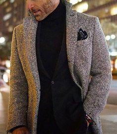Gentleman style mens fashion winter in 2019 мужской кост Sharp Dressed Man, Well Dressed Men, Stylish Men, Men Casual, Men's Fashion, Winter Fashion, Fashion Styles, Sous Pull, Gentleman Style