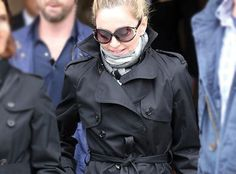 A MATERIAL GIRL IN PARIS » Madonna was spotted wearing Salvatore Ferragamo sunglass style SF600S from @Marchon Eyewear in the City of Light.