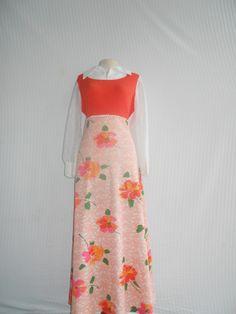 Original Gangsta.  The vintage maxi dress.