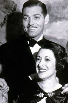 Clark with second wife, Maria