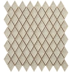 SomerTile 12x12-in Crackle Ice 1x2-in Handmade Glass/Ceramic Mosaic Tile (Pack of 5) | Overstock.com