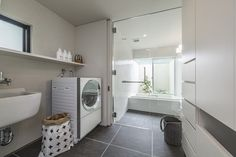 Bathroom design ideas pictures and inspiration Bathroom Interior, Modern Bathroom, Master Bathroom, Bathroom Images, Bathroom Ideas, Amazing Bathrooms, Laundry Room, My House, Home Appliances