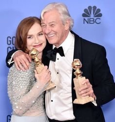 Beauty Break: Another look at the golden goddesses and gents at theGlobes - Blog - The Film Experience
