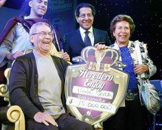 Rene Vega ganador La Herencia en Enjoy Santiago.