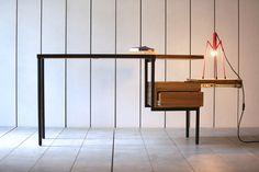 Ktab desk by Kann, design José Pascal www.kanndesign.com #designdesk #bureaudesign