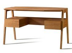 Cherry wood writing desk with drawers SCRITTOIO EUGENIO - Morelato