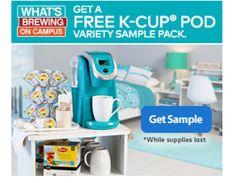 free k-cup pod sample pack | Freebie's, Sweeps & Giveaways | Pinterest