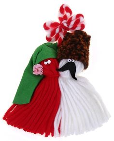 store.bg - Мартеница - Шопи Baba Marta, Yarn Dolls, Beautiful People, Projects To Try, Winter Hats, Wool, How To Make, Crafts, Diy