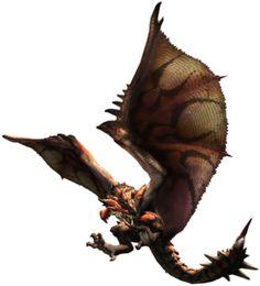 "Monster Hunter ""Rathalos"""