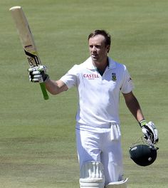 De Villiers (SA) 121, completing his 16th Test ton, vs Pakistan, 3rd Test, Centurion, day 2, February 23, 2013