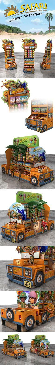 Safari Jeep Display on Behance