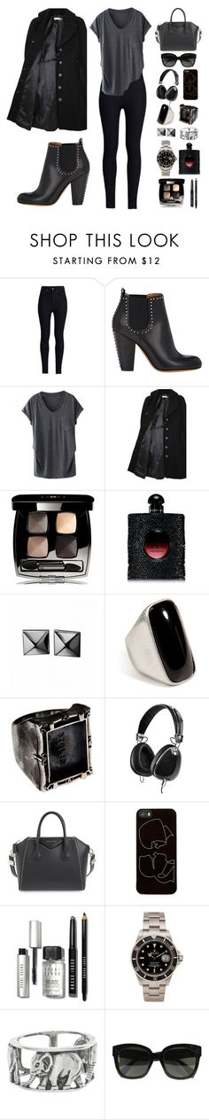 """""""FRIO NEGRO!"""" by itskellywilliams ❤ liked on Polyvore featuring Rodarte, Givenchy, Hope x Nina Persson, Chanel, Yves Saint Laurent, Waterford, Emilio Pucci, Skullcandy, Zero Gravity and Bobbi Brown Cosmetics"""