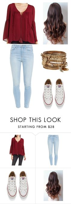 """#OOTD"" by izzy-ccix on Polyvore featuring Charlotte Russe, Paige Denim, Converse, ALDO, women's clothing, women, female, woman, misses and juniors"