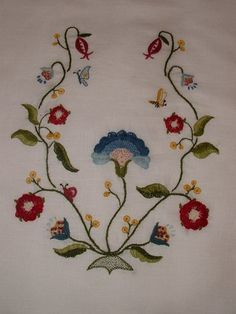 jennylafleur | diary | another 18th century crewelwork pocket