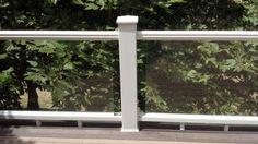 Code for glass panel railing Patio Railing, Balcony Railing Design, Wood Pergola, Small Pergola, Pergola Patio, Pergola Ideas, Pergola Swing, Pergola Plans, Patio Ideas