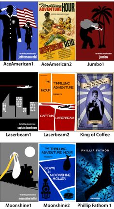 Thrilling Adventure Hour Posters - product image