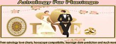 Free Astrology For Marriage - all you really need to know | Free Astrology love charts, horoscope compatibility information, marriage date prediction and much more... Please Visit Us Today at http://www.freeastrologyformarriage.com/