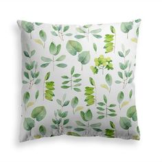 Try our DELICATE GREENERY throw pillow. Get yourself the latest green floral trend and get your cozy pillow with a lush bouquet of greenery. This premium feel moisture-wicking pillow with a shape-retaining insert is just what you're looking for! It'll make any room luxurious and provide the perfect excuse for a quick power nap. Floral Pillows, Decorative Throw Pillows, Power Nap, New Room, Modern Contemporary, Greenery, Pillow Covers, Delicate, Future House