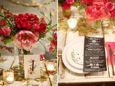 Gold + Pink Wedding