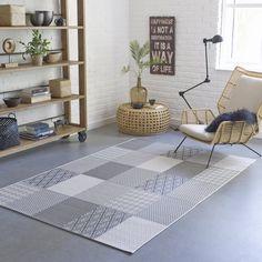Tapis patchwork outdoor / indoor, kyoka. La Redoute Interieurs | La Redoute