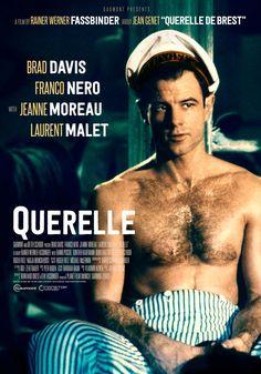 Querelle (1982) Rainer Werner Fassbinder Theatrical Onesheet / Movie Poster for Nonstop Entertainment design by Kellerman Design