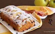Plumcake alle mele e gocce di cioccolato - con e senza Bimby