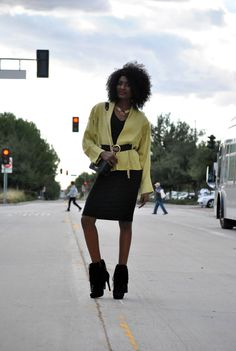 Fringed Blazer and Boots