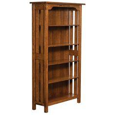 Amish Boulder Creek Bookcase | Amish Furniture | Shipshewana Furniture Co.
