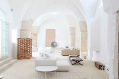 Maison de vacances en blanc
