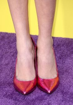 Peyton List's shoes - womens-shoes Photo