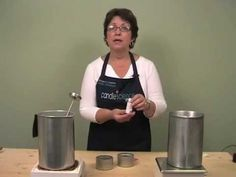 instructions for making soy candles - Bing video #soapmakingforbeginners #candlemakingtips