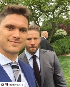 TA Client Chris Hogan is visiting the White House with Julian Edelman and the rest of the Super Bowl Champion New England Patriots!
