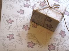 wrapping paper : illustrated by Mari Mochizuki