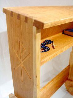 woodworking plans prayer kneeler