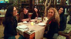 Cena entre chicas