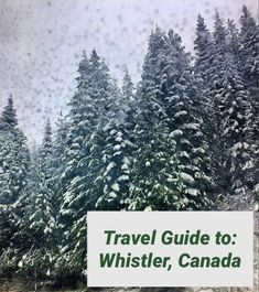 Ultimate Travel Guide to: Whistler, Canada. 5 Year Olds, Whistler, Ultimate Travel, Great Memories, Travel Guide, Canada, Tourism