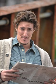 "Eric Balfour (Duke in Haven). Not typically ""my type"", but I love his character!"