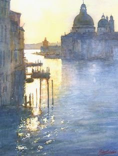 Robert Brindley morning light Grand canal
