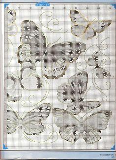 Gallery.ru / Фото #42 - 80 - crostitchcollection butterflies in cross stitch