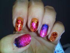 Mis uñas, mi pasatiempo... como gata panza arriba: METALICA