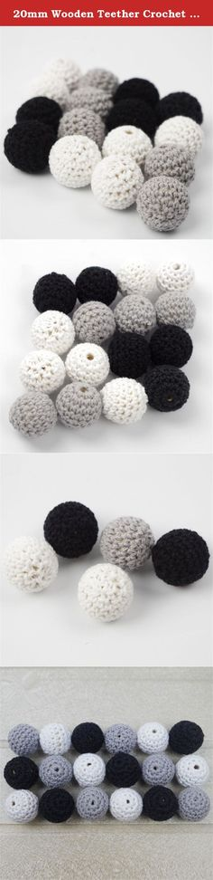 20mm Wooden Teether Crochet Round Wooden Beads Black Grey White Diy Mix Ball Knit Wood Beads Chunky Crochet Beadsbaby Teething Toys. Welcome To Mamimami home. About Our Products: 1.Our wooden teether have passed CE/EN71-3/EN71-2 certificate. 2.Our silicone teether have passed CE /FDA /BPA FREE/EN71-3/Australian standard certificate. Attention: 1.All toys are made of natural materials and are safe for babies and children. But please don't leave your child unattended with this toy. 2.The…