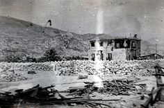 1945 Italy Cassino Last House Remaining