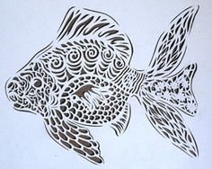 Papercutting Fish-project by Rose-Ann-Mary-K