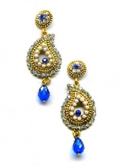 Elite Blue Earring Set