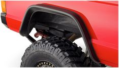 Be ready for anything - equip your Jeep Cherokee with Bushwacker Flat Style Fender Flares. They're the first and only flat style flares made to absorb impact, using our proprietary Dura-Flex® 2000 TPO - the thickest, most flexible material available. Flat Style Fender Flares maximize your tire coverage and wheel articulation for severe off-road use. Yet they're carefully engineered to install with a minimum of extra tools and bodywork (see the installation guide for your specific vehi...