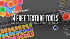 14 Free Texture Tools for Cinema 4D | Greyscalegorilla