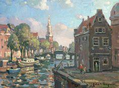 "John C. Traynor ""Rembradts View, Holland"""